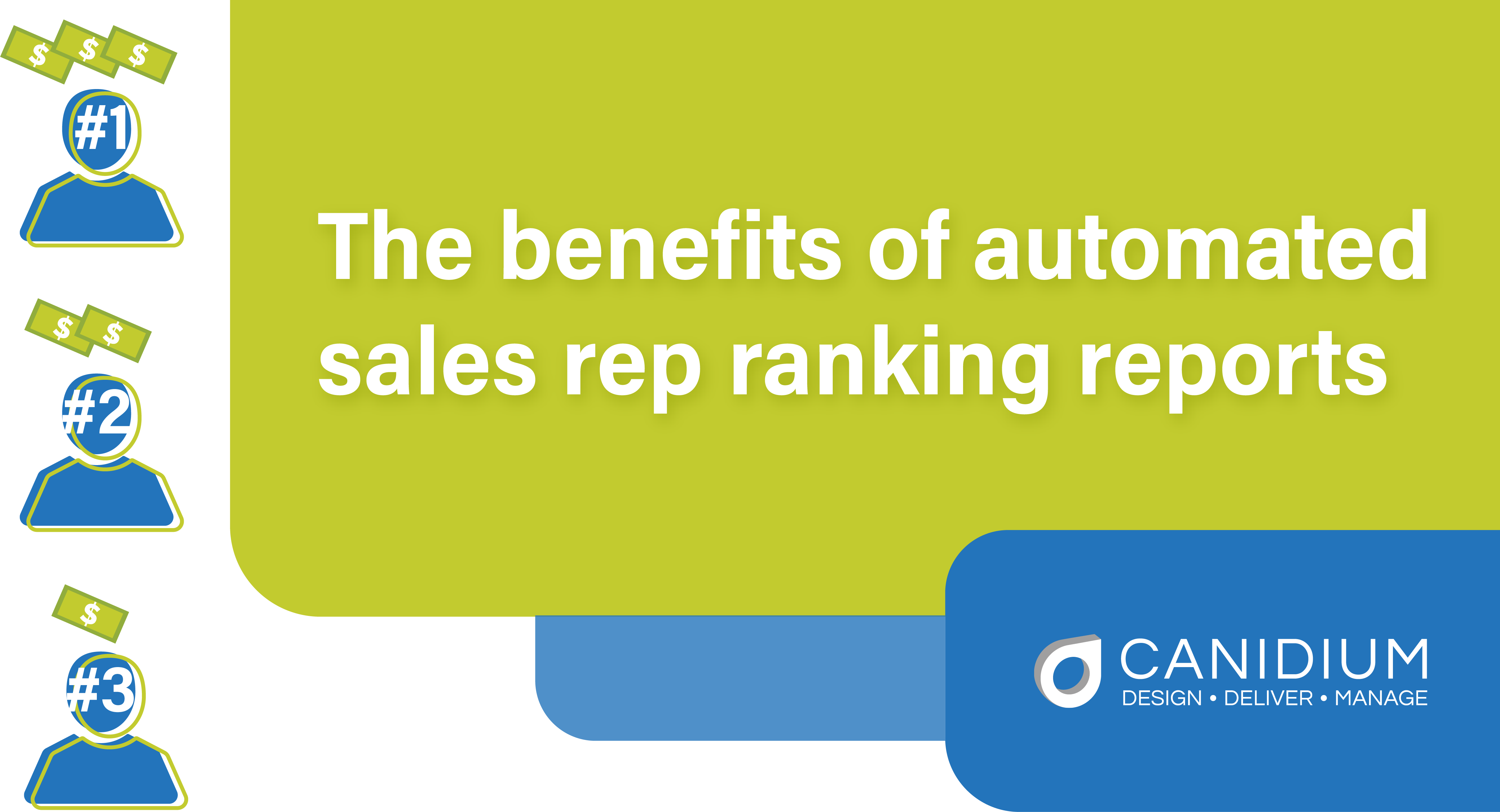 The benefits of automated sales rep ranking reports