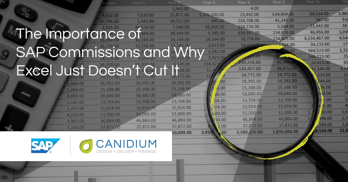 The Importance of SAP Commissions and Why Excel Just Doesn't Cut It