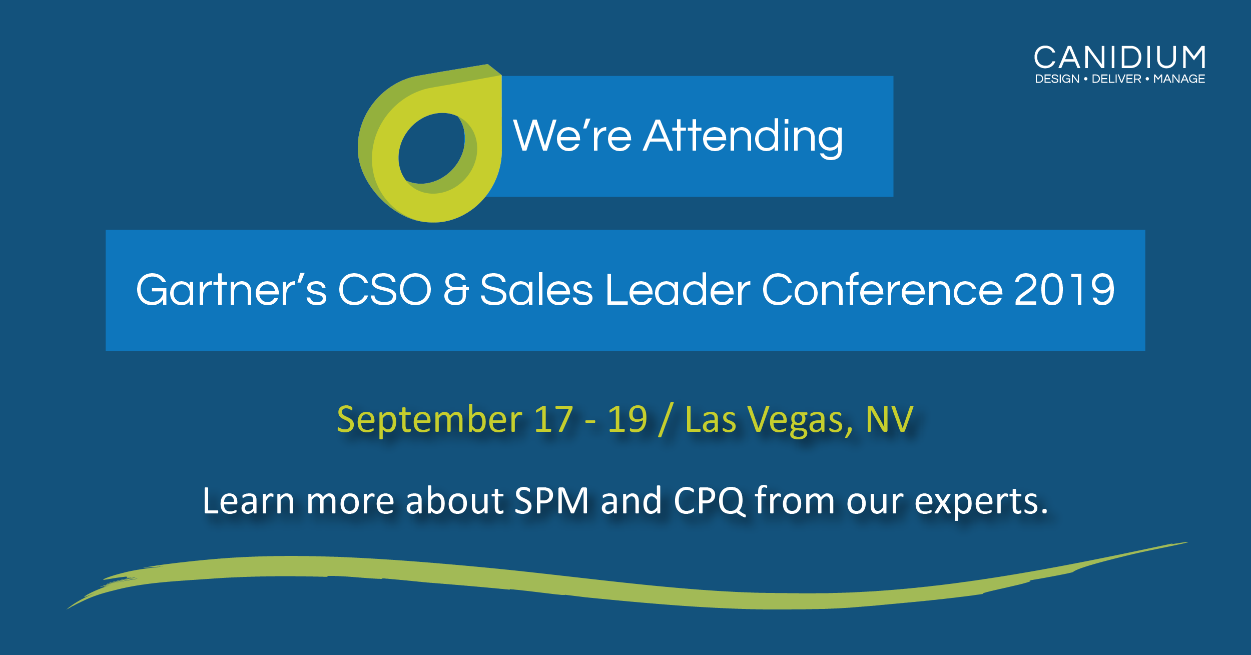 Why Camille Carpenter is attending the Gartner CSO & Sales Leader Conference