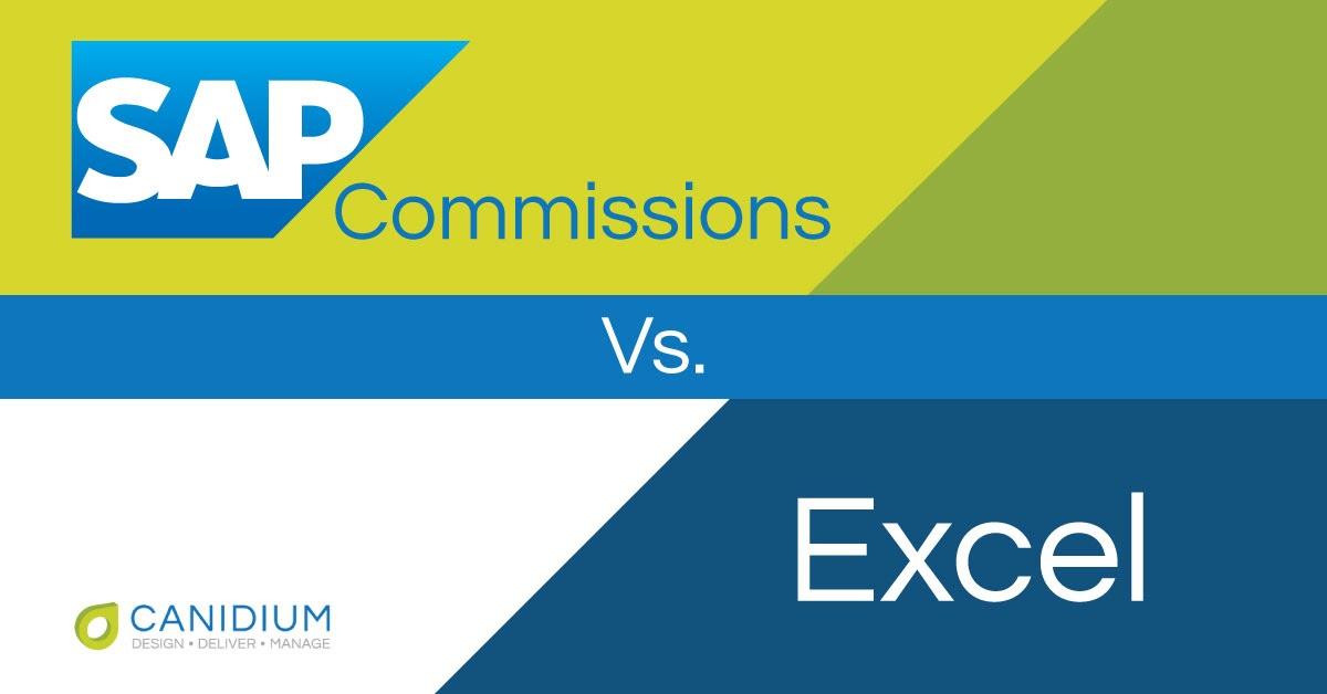 SAP Commissions vs. Excel