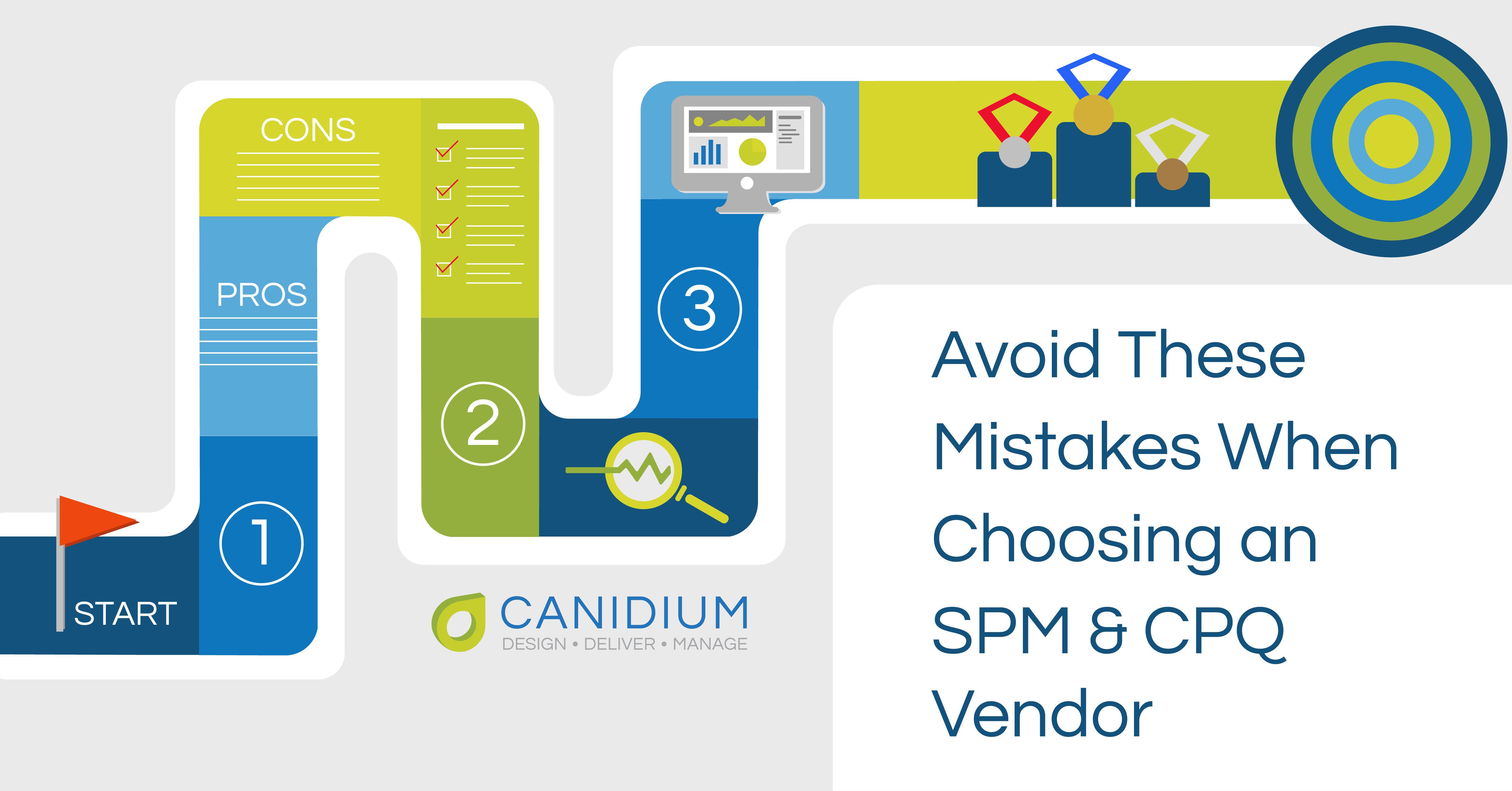 Avoid These Mistakes When Choosing an SPM or CPQ Vendor