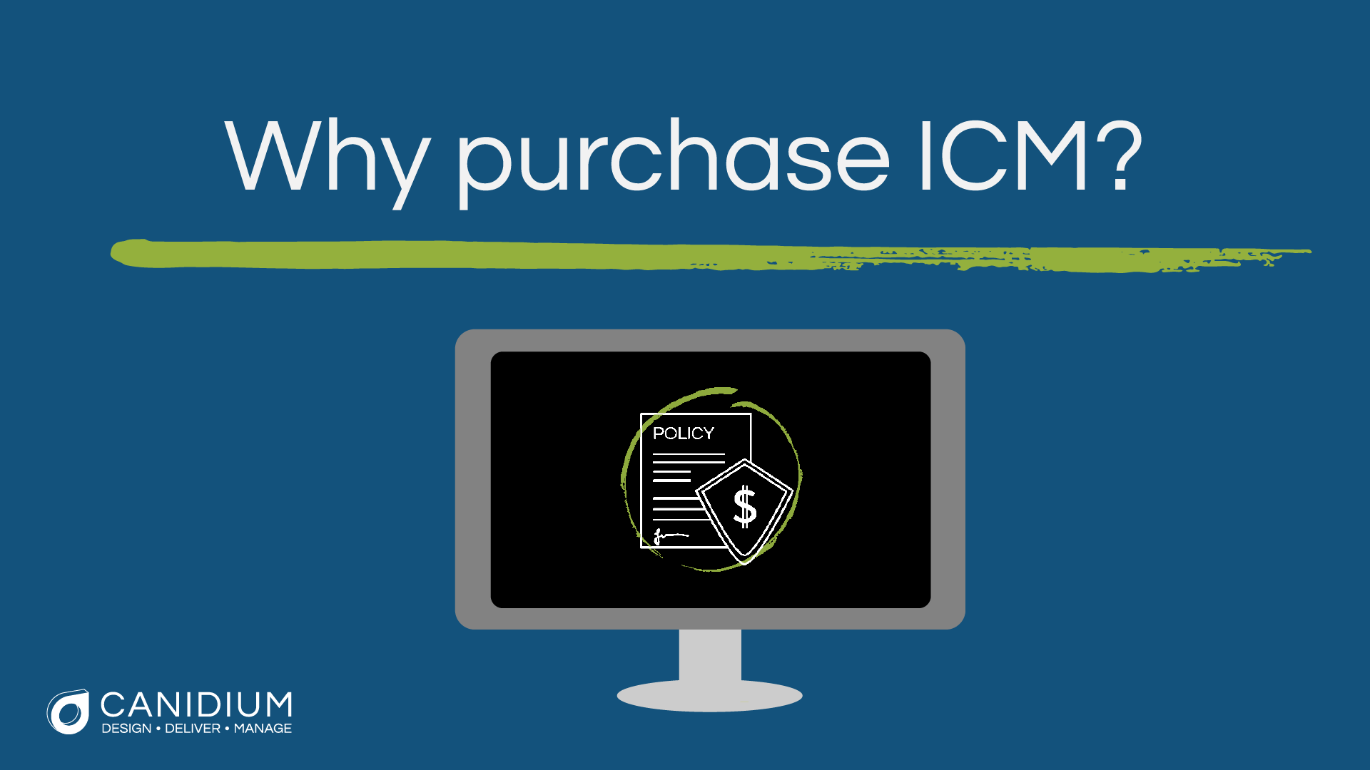 Why Purchase ICM?